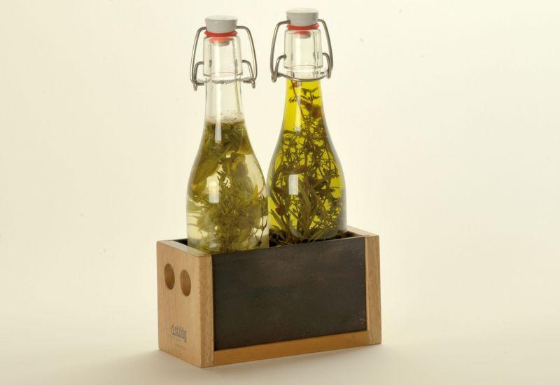Menage für Essig und Öl